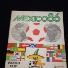 Coleccionismo deportivo: ÁLBUM DE CROMOS FÚTBOL MÉXICO 86 DE PANINI. Lote 112831007