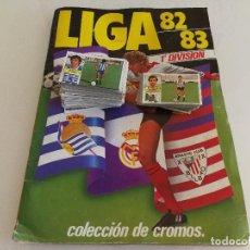 Coleccionismo deportivo: ALBUM FÚTBOL LIGA ESTE 82 83 CON CROMOS SIN PEGAR. Lote 112923247