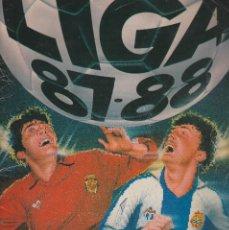 Coleccionismo deportivo: ALBUM LIGA 87-88 CON 342 CROMOS.LEER DESCRIPCION. Lote 113057207