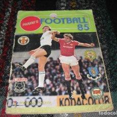 Coleccionismo deportivo: 2 ALBUNES FOOTBALL 85 Y FOOTBALL 83.-FUGURINE PANINI. Lote 113357091