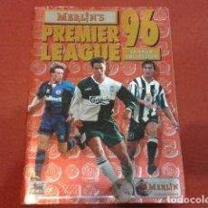Coleccionismo deportivo: ALBUM MERLIN´S PREMIER LEAGUE 96 STICKER COLLECTION TIENE 362 CROMOS VER FOTOS. Lote 113625811