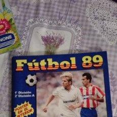 Coleccionismo deportivo: ALBUM PANINI FUTBOL 89 INCOMPLETO. Lote 113750307