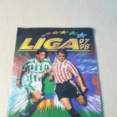 Coleccionismo deportivo: ALBUM FUTBOL EDICIONES ESTE 1997 1998 CON 70 DOBLES - 97 98. Lote 113817323