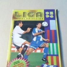 Coleccionismo deportivo: ALBUM FUTBOL EDICIONES ESTE 1995 1996 CON 38 DOBLES - 95 96 CON ALBACETE Y VALLADOLID. Lote 113817923