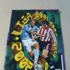 Coleccionismo deportivo: ALBUM FUTBOL EDICIONES ESTE 2001 2002 CON 53 DOBLES - 01 02. Lote 113829759