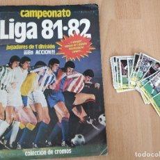 Coleccionismo deportivo: ALBUM DE CROMOS CAMPEONATO LIGA 81-82 DE EDICIONES ESTE - INCOMPLETO + CROMOS SUELTOS . Lote 113909991