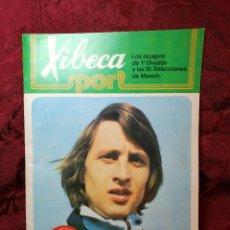 Coleccionismo deportivo: XIBECA SPORT. ALBUM FUTBOL. AÑO 1973-74 CERVEZAS DAMM. VACIO. ESTADO IMPECABLE. Lote 113954047