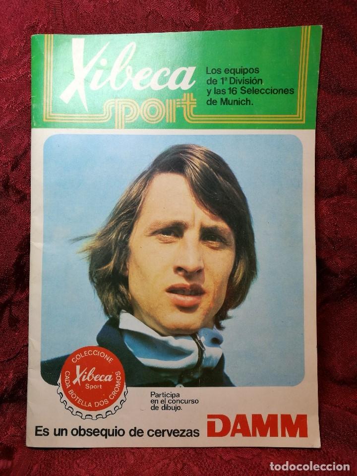 Coleccionismo deportivo: XIBECA SPORT. ALBUM FUTBOL. AÑO 1973-74 CERVEZAS DAMM. VACIO. ESTADO IMPECABLE - Foto 2 - 113954047