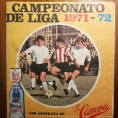 Coleccionismo deportivo: ALBUM LA CASERA / FHER CAMPEONATO DE LIGA 1971/72 71/72 COMPLETO Y EN BUEN ESTADO. Lote 114117283