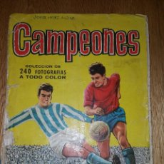Coleccionismo deportivo: ALBUM CROMOS FUTBOL CAMPEONES 1961. EDITORIAL BRUGUERA. Lote 114148247