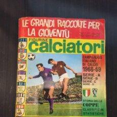 Coleccionismo deportivo: ALBUM FIGURINI CALCIATORI PANINI AÑO 1968-69 , 427 CROMOS. Lote 114524607