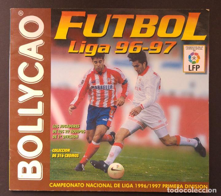ALBUM CROMOS - LIGA 1996-1997 96-97, BOLLYCAO (Coleccionismo Deportivo - Álbumes y Cromos de Deportes - Álbumes de Fútbol Incompletos)