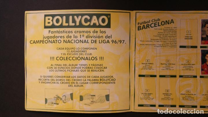 Coleccionismo deportivo: ALBUM CROMOS - LIGA 1996-1997 96-97, BOLLYCAO - Foto 2 - 115798079