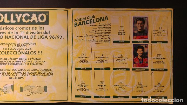 Coleccionismo deportivo: ALBUM CROMOS - LIGA 1996-1997 96-97, BOLLYCAO - Foto 3 - 115798079