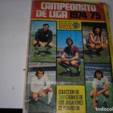Coleccionismo deportivo: CAMPEONATO DE LIGA 1974/75. . Lote 116151695