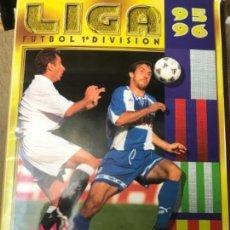 Coleccionismo deportivo: ANTIGUO ÁLBUM CROMOS FUTBOL LIGA 1995-1996 95 96 COLECCIONES ESTE 362 CROMOS. Lote 116340707
