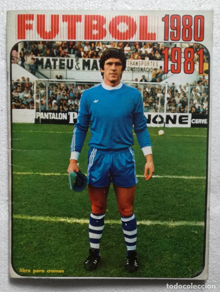 ALBUM DE FUTBOL 1980-81, FHER - COMPLETO Y EN MUY BUEN ESTADO (Coleccionismo Deportivo - Álbumes y Cromos de Deportes - Álbumes de Fútbol Incompletos)