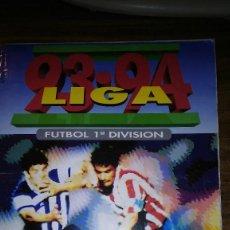 Coleccionismo deportivo: EDICIONES ESTE 1993 1994 93 94 - ALBUM EN BUEN ESTADO CON 369 CROMOS. Lote 116682227