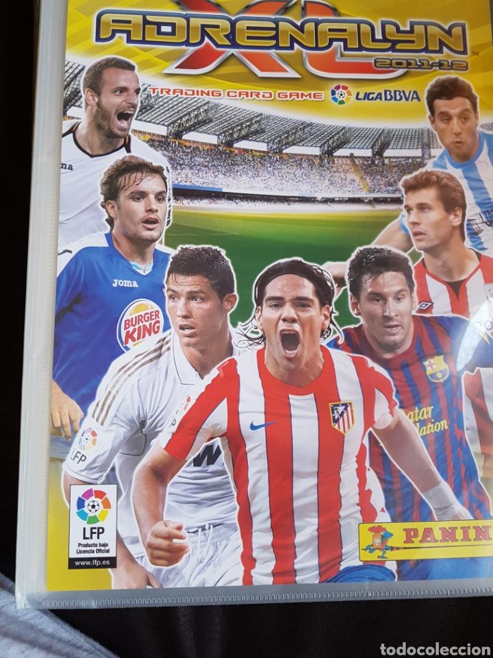 ALBUM ADRENALYN 2011/12 + 269 TRADING CARDS (Coleccionismo Deportivo - Álbumes y Cromos de Deportes - Álbumes de Fútbol Incompletos)