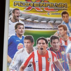 Coleccionismo deportivo: ALBUM ADRENALYN 2011/12 + 269 TRADING CARDS. Lote 116816751