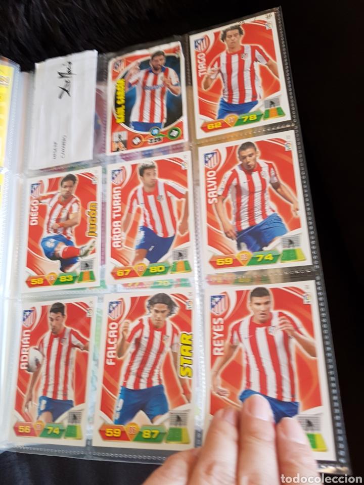 Coleccionismo deportivo: Album Adrenalyn 2011/12 + 269 trading cards - Foto 5 - 116816751