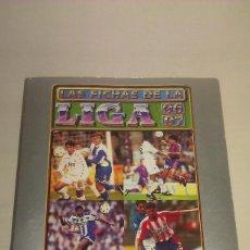 Coleccionismo deportivo: ÁLBUM - ARCHIVADOR CON 447 CROMOS LAS FICHAS DE LA LIGA 96 97 1996 1997 1ª DIVISIÓN - MUNDICROMO -. Lote 117073175