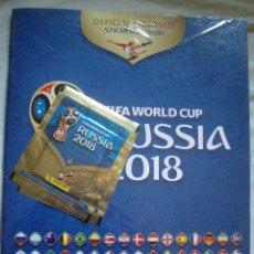 Coleccionismo deportivo: ALBUM FIFA WORLD CUP RUSSIA 2018 PANINI CON 2 SOBRES. Lote 117220859