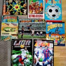 Coleccionismo deportivo: LOTE ÁLBUMES LIGA 1973/FÚTBOL/GUARDIANES DEL ESPACIO. Lote 117307195