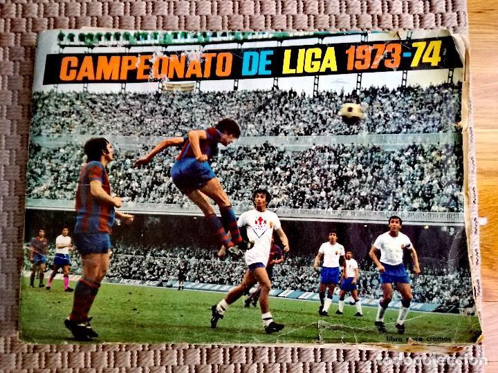 Coleccionismo deportivo: Lote Álbumes Liga 1973/Fútbol/Guardianes del Espacio - Foto 2 - 117307195