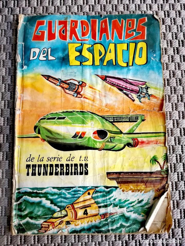 Coleccionismo deportivo: Lote Álbumes Liga 1973/Fútbol/Guardianes del Espacio - Foto 8 - 117307195