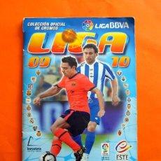 Coleccionismo deportivo: ÁLBUM - LIGA BBVA 2009-2010, 09-10 - COLECCIONES ESTE PANINI - INCOMPLETO CON 468 CROMOS, VER FOTOS. Lote 117550871
