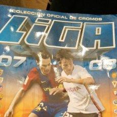 Coleccionismo deportivo: LIGA 2007-2008 - 2007/08 -ESTE - CON 423 CROMOS- FALTAN DE ULTIMOS FICHAJES EL 40 Y 52. Lote 117780079