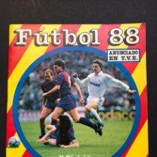 Coleccionismo deportivo: ALBUM FUTBOL 88 - PANINI - 1ª DIVISION - VER DESCRIPCION Y FOTOS. Lote 117879283