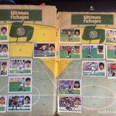 Coleccionismo deportivo: ALBÚM EDICIONES ESTE 1984/85 EN MAL ESTADO CON 266 CROMOS RECUPERABLES.. Lote 118148491