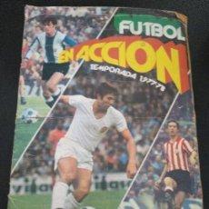 Coleccionismo deportivo: ALBUM FÚTBOL EN ACCIÓN 1977 1978 PACOSA. Lote 118341519