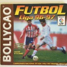 Coleccionismo deportivo: ÁLBUM BOLLYCAO FÚTBOL LIGA 96-97 LFP INCOMPLETO. Lote 118598903