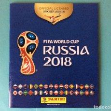 Coleccionismo deportivo: ÁLBUM PLANCHA VACIO - FIFA RUSIA 2018. Lote 118714407