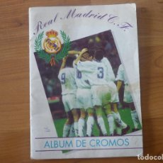 Coleccionismo deportivo: ALBUM FUTBOL BALONCESTO REAL MADRID CF 94 95 CASI COMPLETO 278 CROMOS - MAGIC BOX 1994 VER. Lote 118730259
