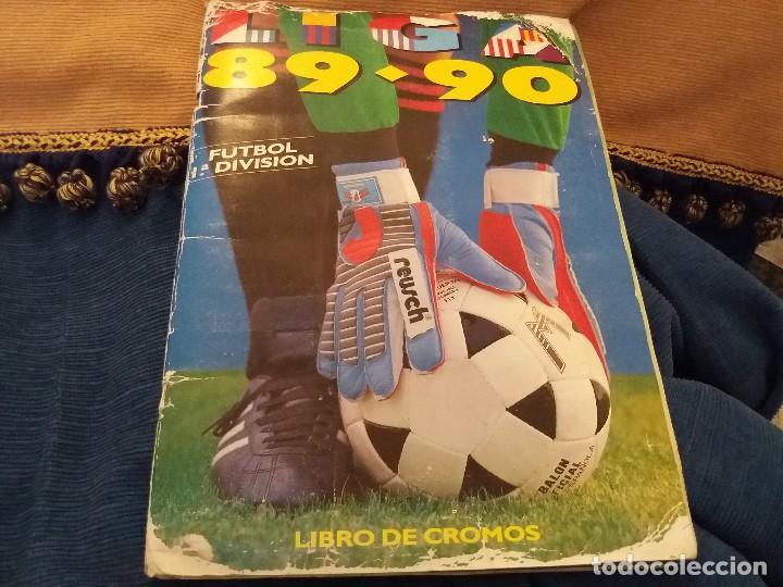 Sammelleidenschaft Sport: LOTE 2 ALBUM ALBUMES ESTE AÑO 89/90 90/91 PARA APROVECHAR CROMOS. LEER DESCRIPCIÓN - Foto 2 - 119299563