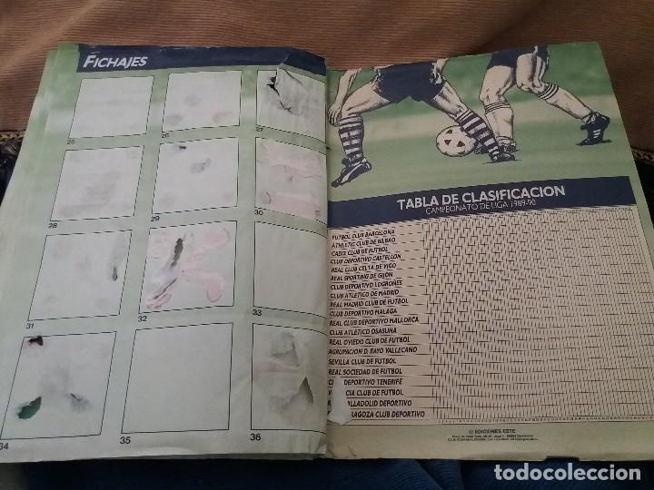 Sammelleidenschaft Sport: LOTE 2 ALBUM ALBUMES ESTE AÑO 89/90 90/91 PARA APROVECHAR CROMOS. LEER DESCRIPCIÓN - Foto 3 - 119299563