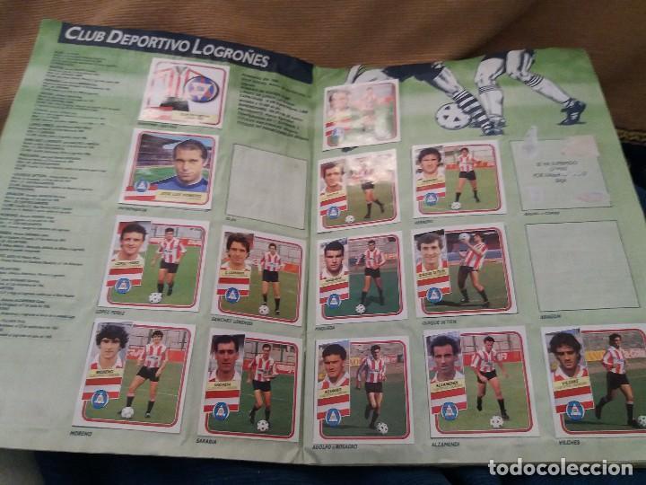 Sammelleidenschaft Sport: LOTE 2 ALBUM ALBUMES ESTE AÑO 89/90 90/91 PARA APROVECHAR CROMOS. LEER DESCRIPCIÓN - Foto 4 - 119299563