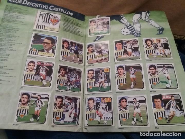 Sammelleidenschaft Sport: LOTE 2 ALBUM ALBUMES ESTE AÑO 89/90 90/91 PARA APROVECHAR CROMOS. LEER DESCRIPCIÓN - Foto 7 - 119299563