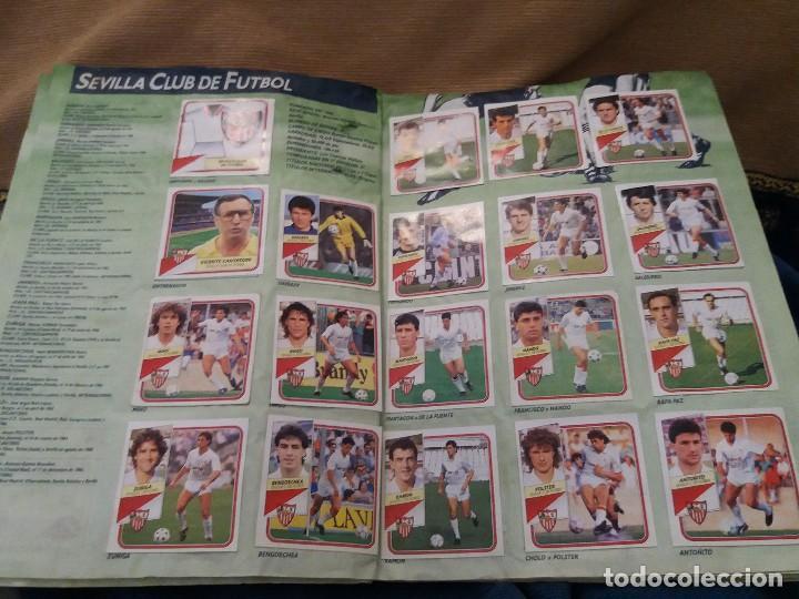 Sammelleidenschaft Sport: LOTE 2 ALBUM ALBUMES ESTE AÑO 89/90 90/91 PARA APROVECHAR CROMOS. LEER DESCRIPCIÓN - Foto 9 - 119299563