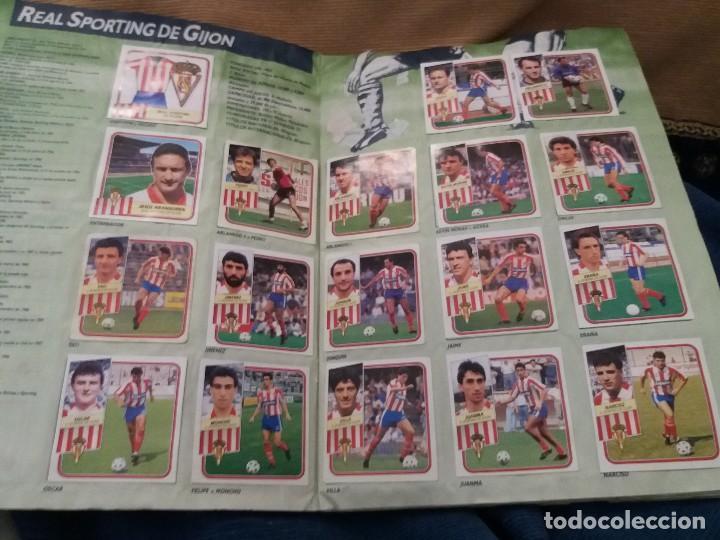 Sammelleidenschaft Sport: LOTE 2 ALBUM ALBUMES ESTE AÑO 89/90 90/91 PARA APROVECHAR CROMOS. LEER DESCRIPCIÓN - Foto 11 - 119299563