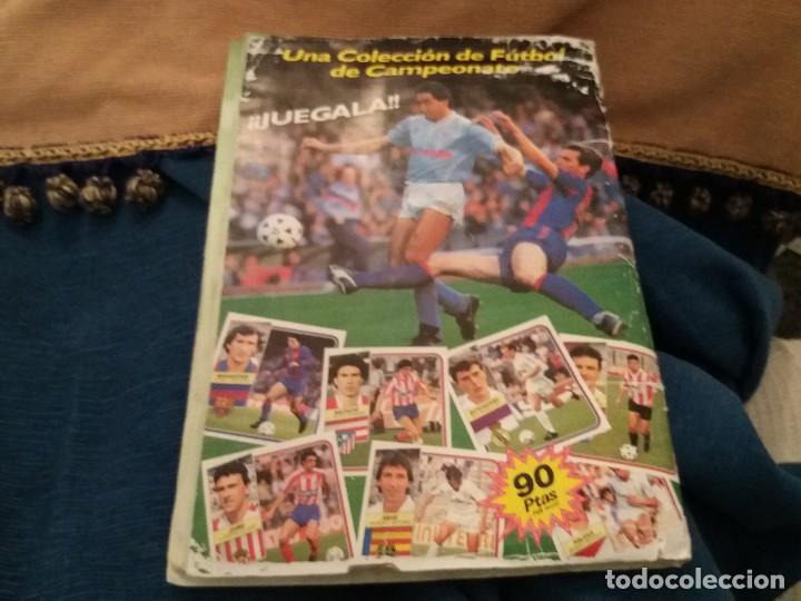Sammelleidenschaft Sport: LOTE 2 ALBUM ALBUMES ESTE AÑO 89/90 90/91 PARA APROVECHAR CROMOS. LEER DESCRIPCIÓN - Foto 17 - 119299563