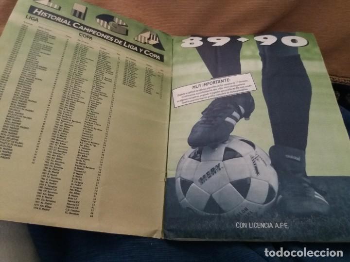 Sammelleidenschaft Sport: LOTE 2 ALBUM ALBUMES ESTE AÑO 89/90 90/91 PARA APROVECHAR CROMOS. LEER DESCRIPCIÓN - Foto 20 - 119299563