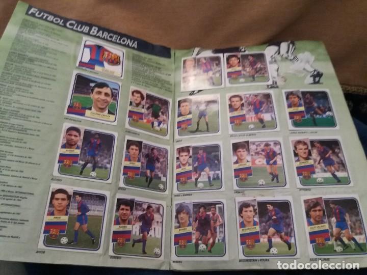 Sammelleidenschaft Sport: LOTE 2 ALBUM ALBUMES ESTE AÑO 89/90 90/91 PARA APROVECHAR CROMOS. LEER DESCRIPCIÓN - Foto 23 - 119299563