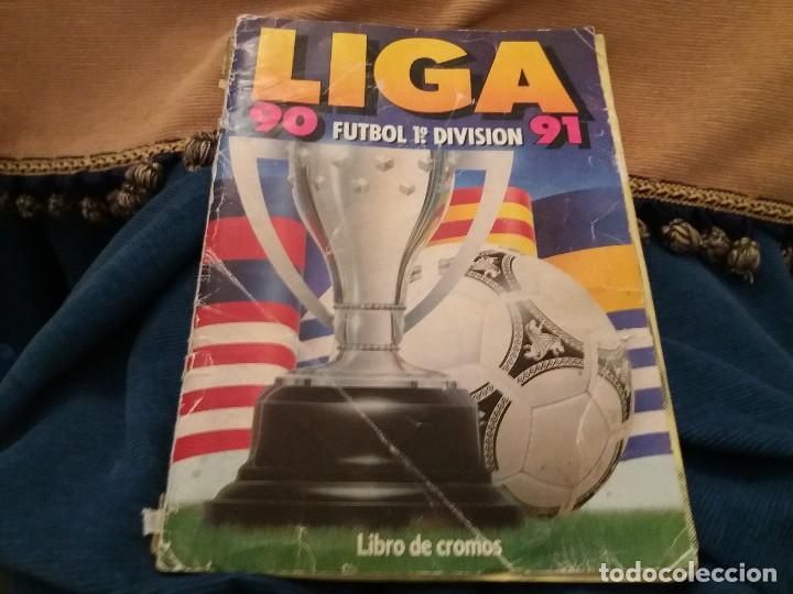 Sammelleidenschaft Sport: LOTE 2 ALBUM ALBUMES ESTE AÑO 89/90 90/91 PARA APROVECHAR CROMOS. LEER DESCRIPCIÓN - Foto 27 - 119299563