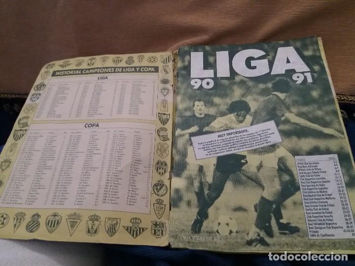 Sammelleidenschaft Sport: LOTE 2 ALBUM ALBUMES ESTE AÑO 89/90 90/91 PARA APROVECHAR CROMOS. LEER DESCRIPCIÓN - Foto 31 - 119299563