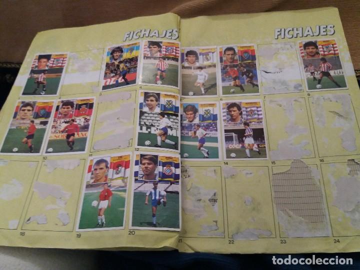 Sammelleidenschaft Sport: LOTE 2 ALBUM ALBUMES ESTE AÑO 89/90 90/91 PARA APROVECHAR CROMOS. LEER DESCRIPCIÓN - Foto 32 - 119299563